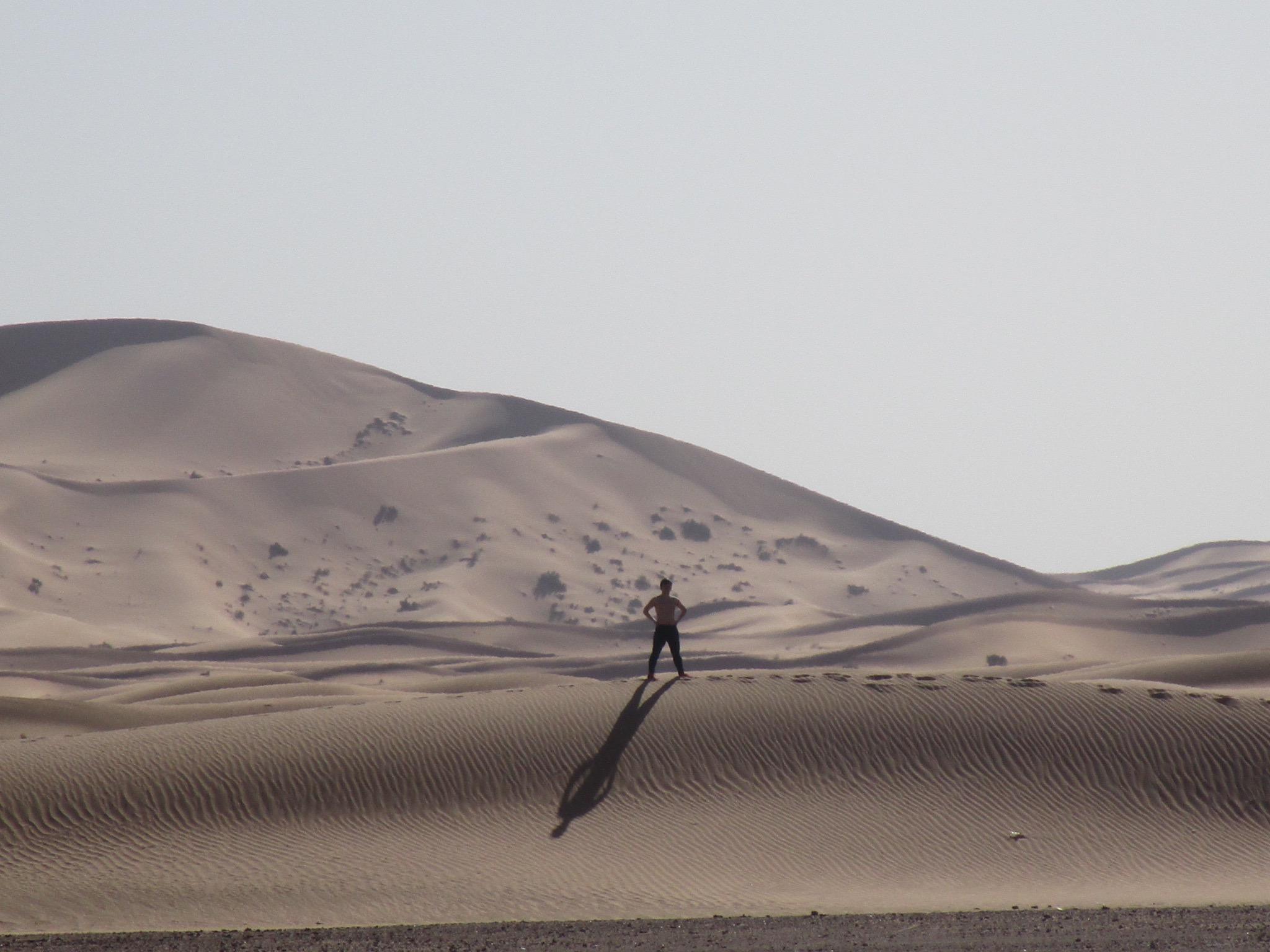 in sahara