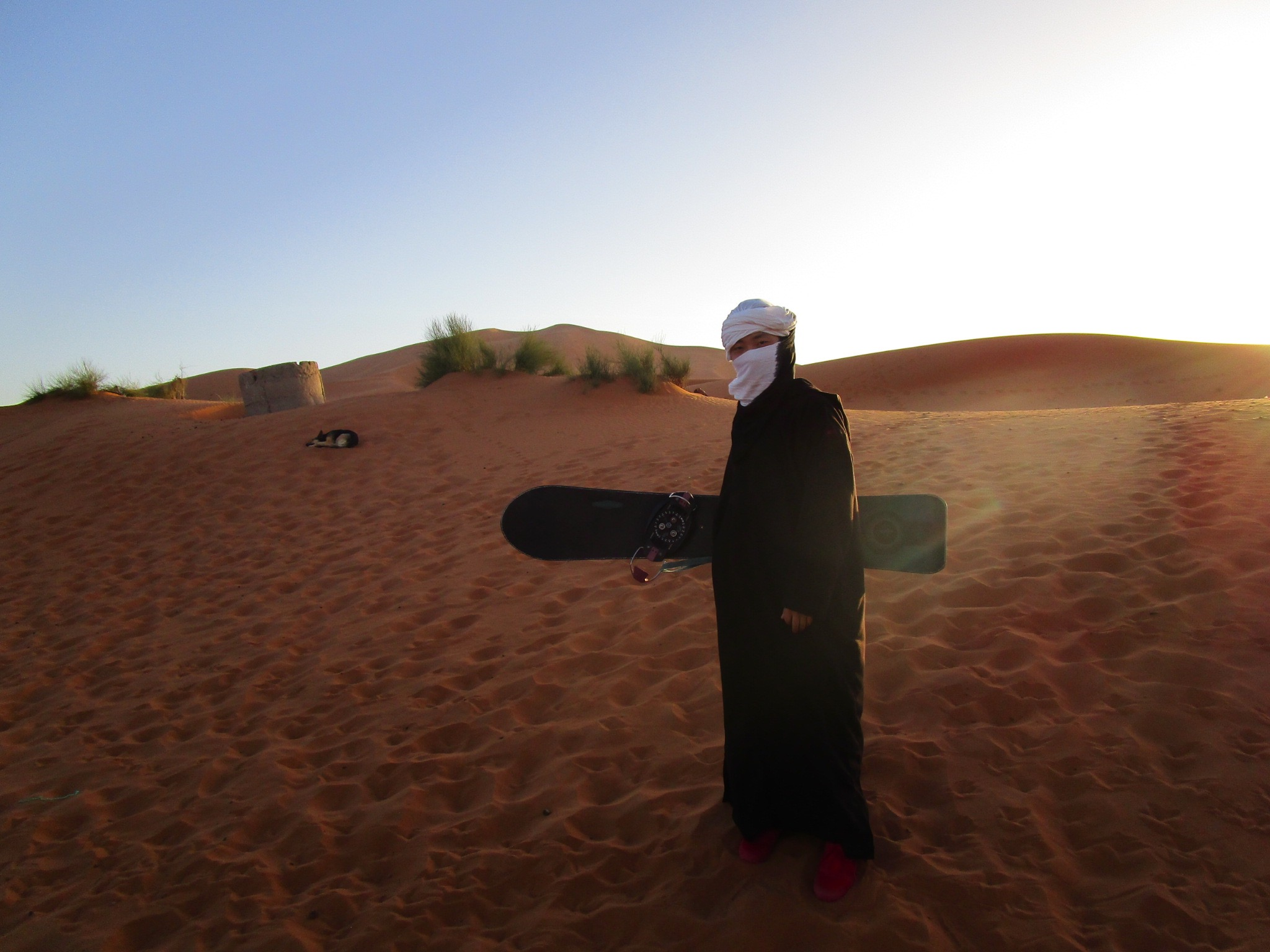 ski in sahara
