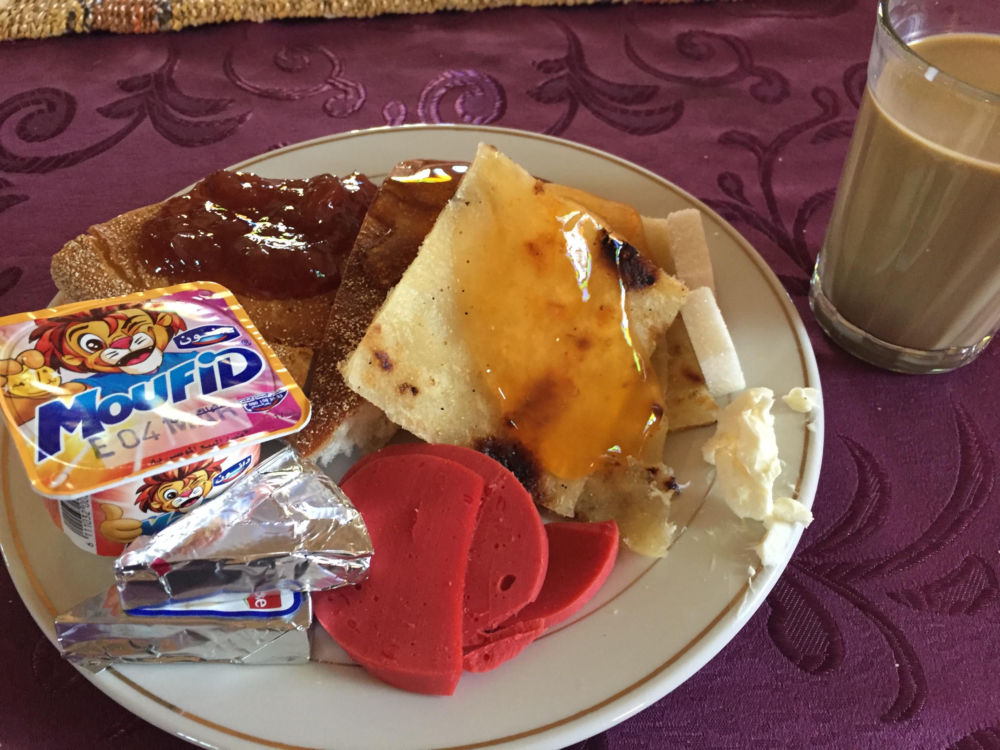 breakfast in lahmada