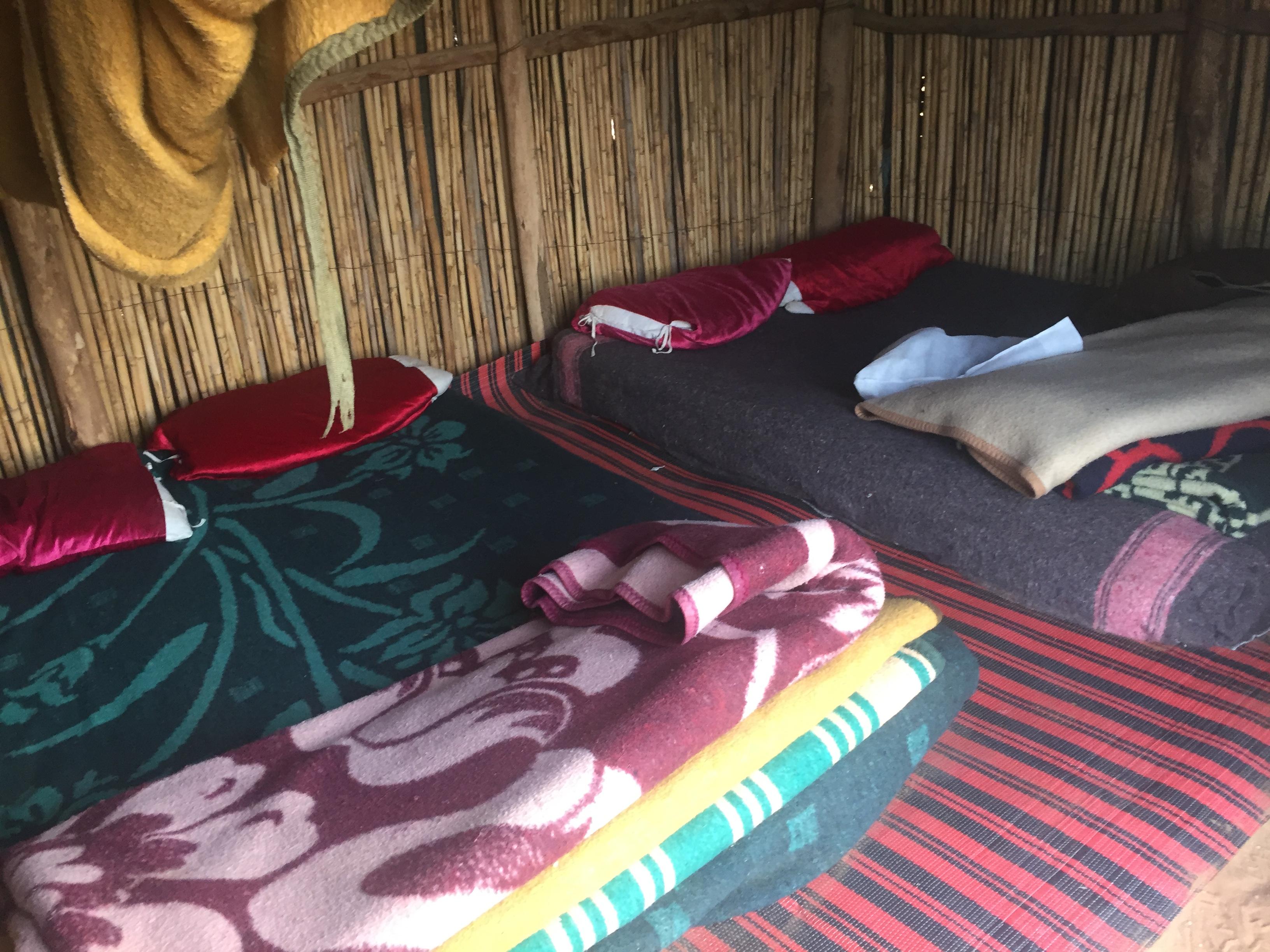 bed in sahara